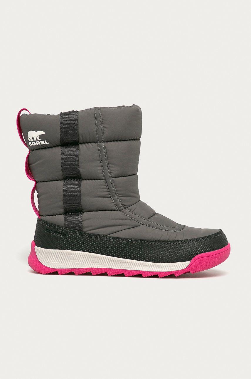 Sorel - Cizme de iarna copii Youth Whitney II Puffy Mid imagine answear.ro 2021