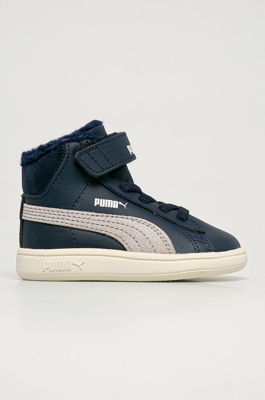 Puma - Pantofi copii Smash v2 Mid L Fur V Inf imagine