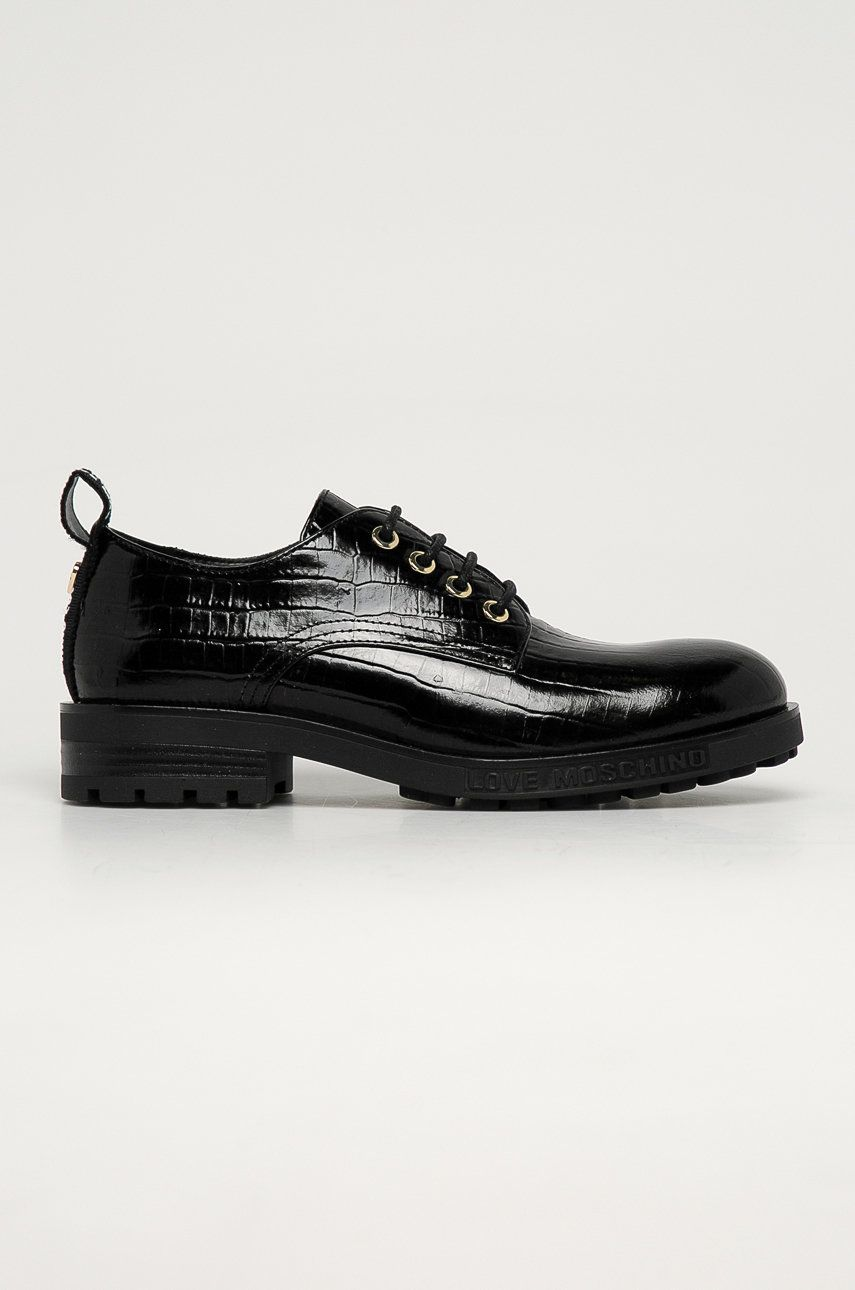 Love Moschino - Pantofi de piele answear.ro