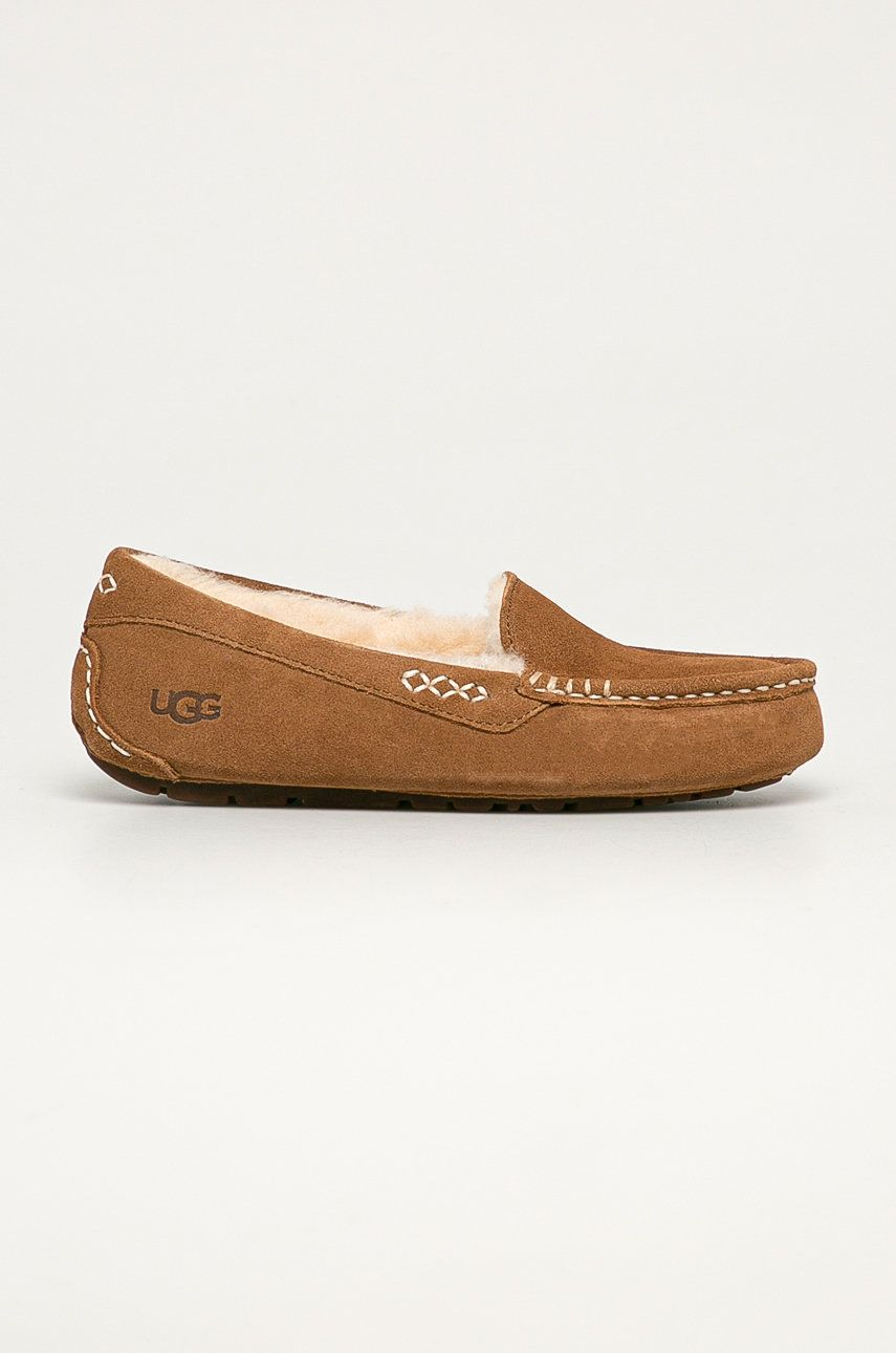 UGG - Papuci din piele intoarsa Ansley