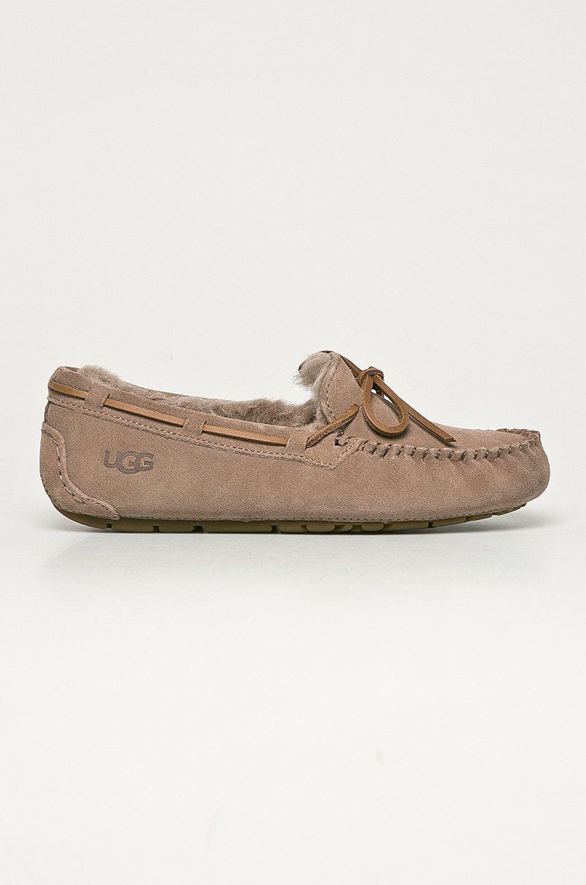 UGG - Papuci din piele intoarsa Dakota