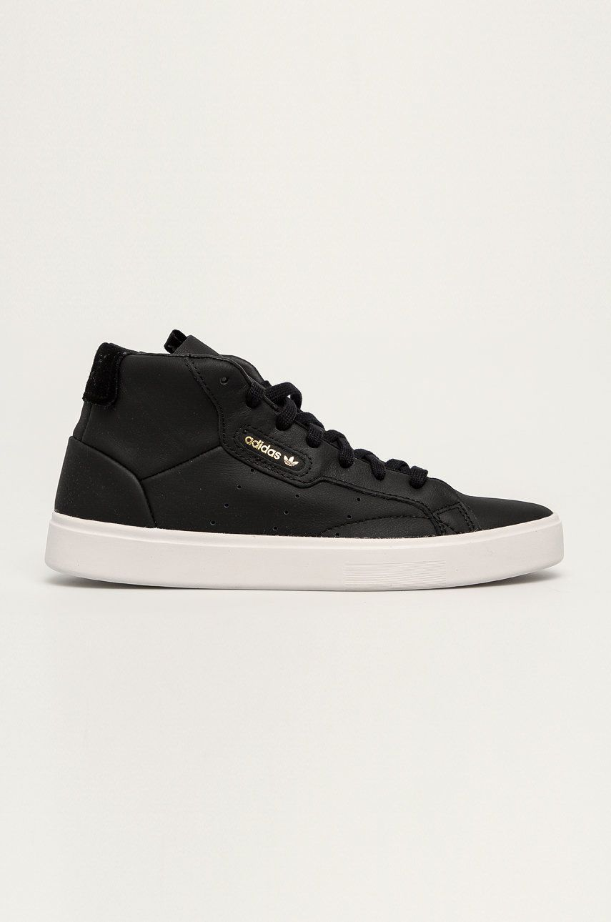 adidas Originals - Kožená obuv Sleek Mid