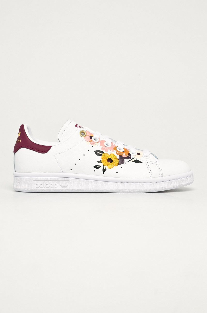 adidas Originals - Ghete de piele x Stan Smith