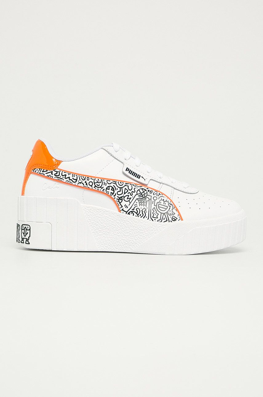 Puma - Pantofi Cali Wedge x Mr Doodle