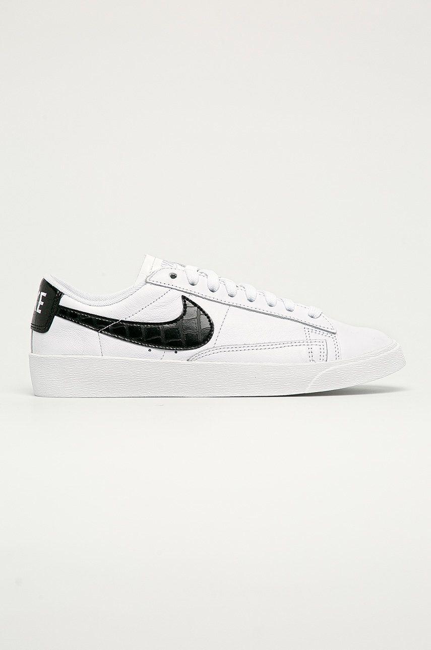Nike Sportswear - Ghete de piele Blazer Low