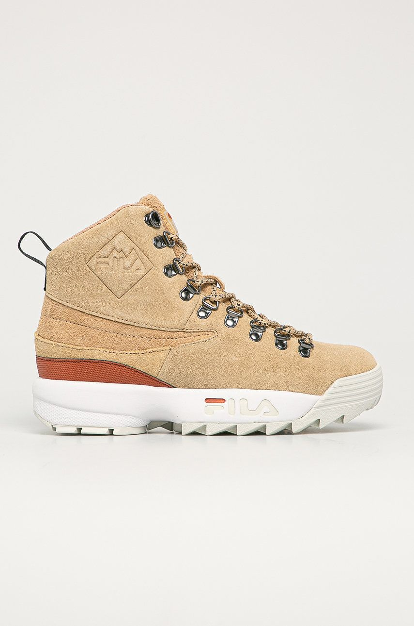 Fila - Pantofi de piele intoarsa Disruptor Hiking Boot