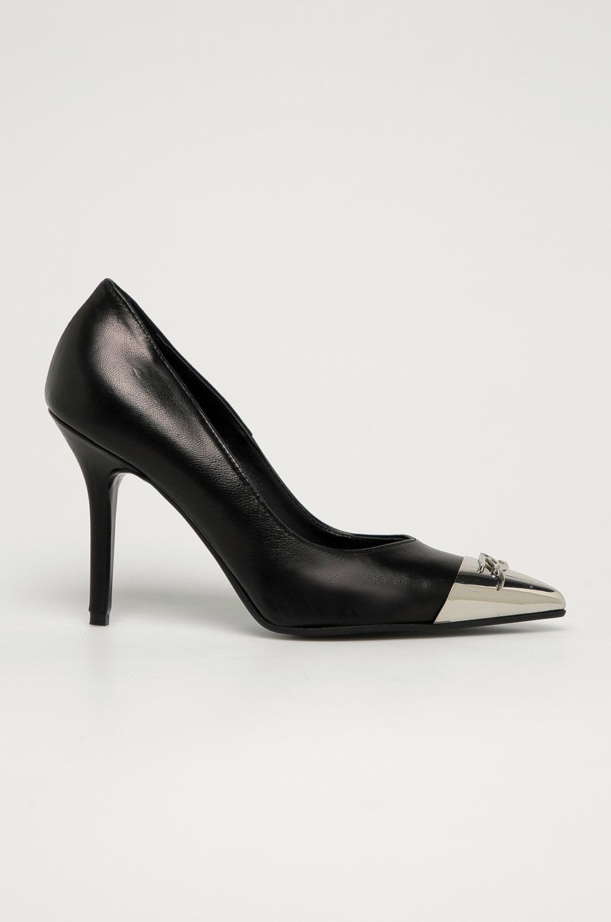 Karl Lagerfeld - Stilettos de piele poza answear