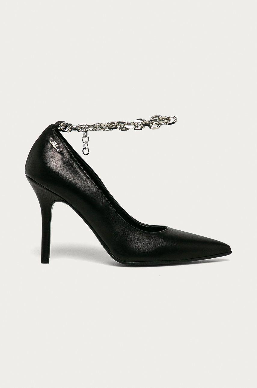 Karl Lagerfeld - Stilettos de piele