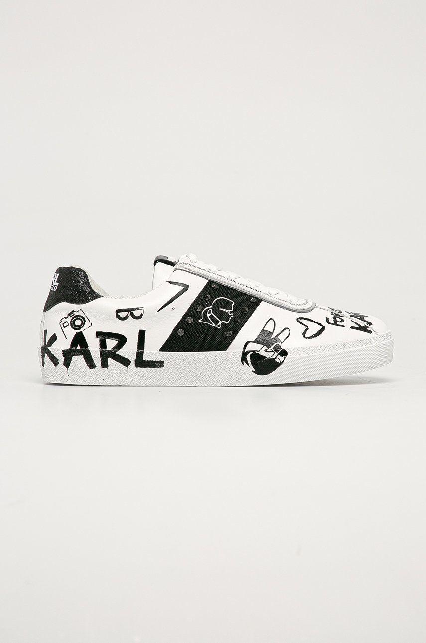 Karl Lagerfeld - Ghete de piele
