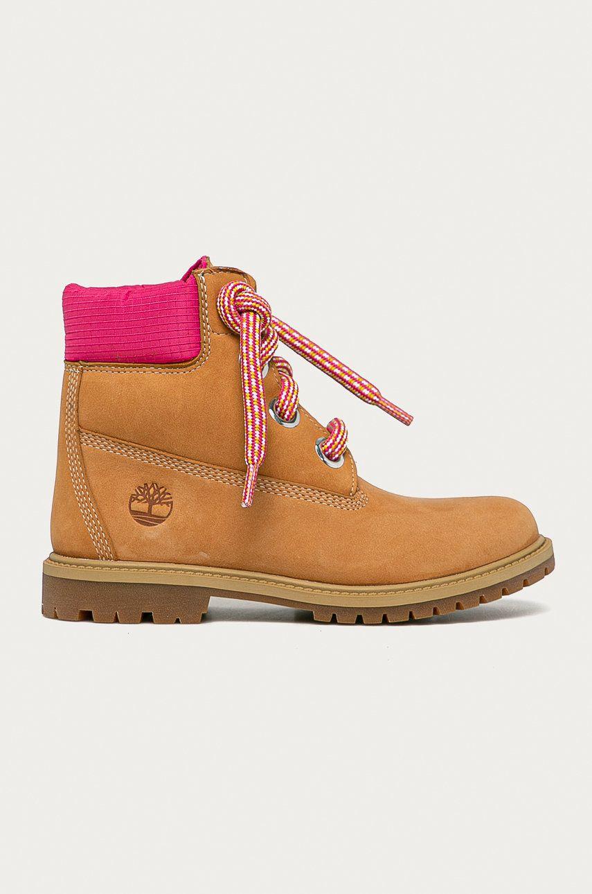 Timberland - Pantofi de piele intoarsa Heritage 6 In imagine