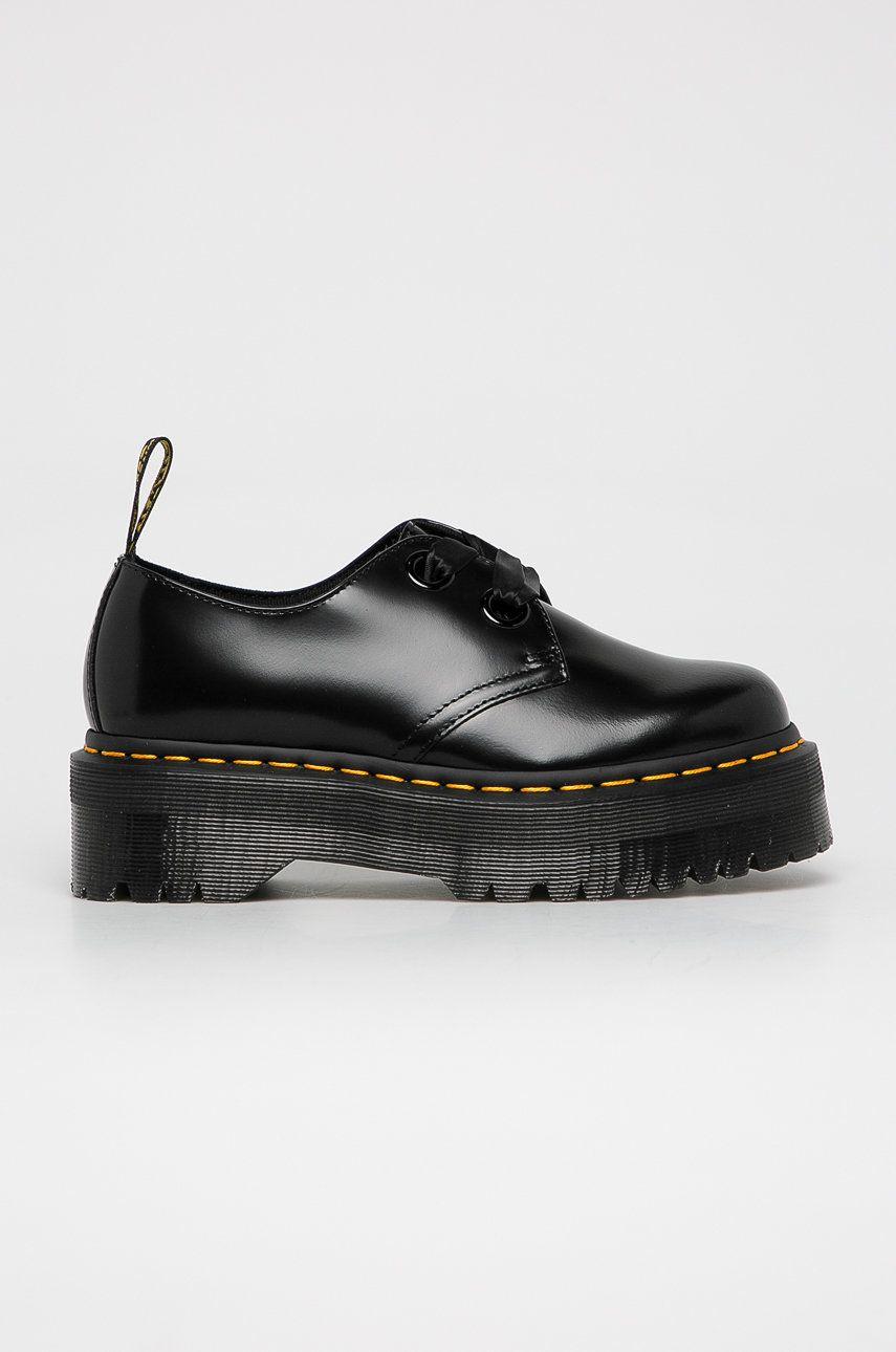 Dr. Martens - Pantofi de piele Holly