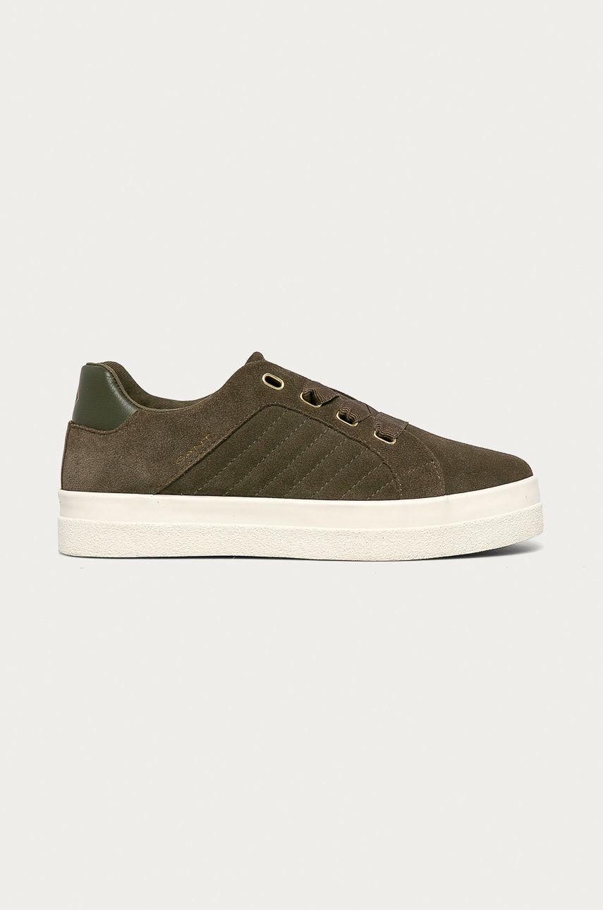 Gant - Pantofi de piele intoarsa Avona