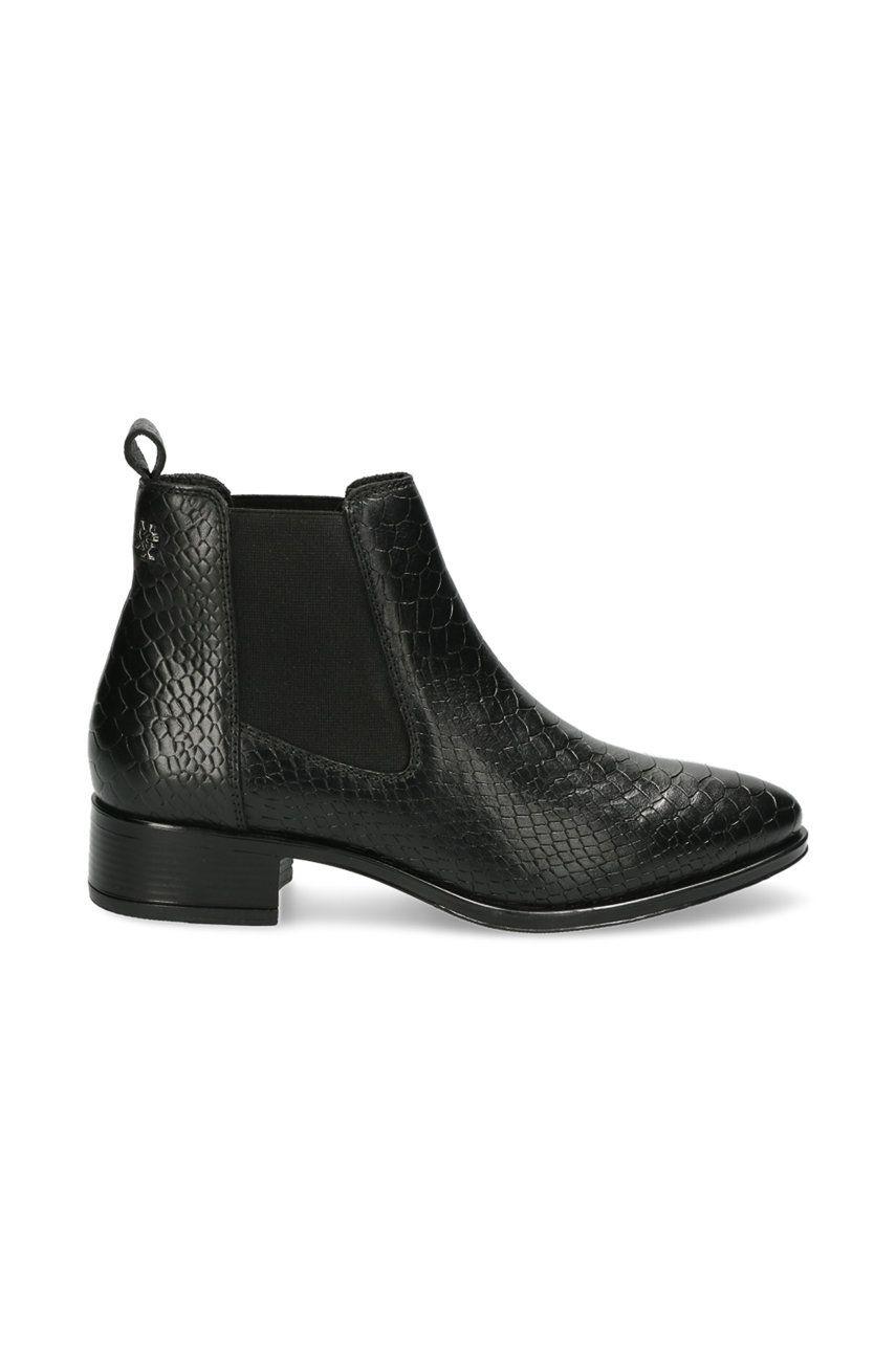 Mexx - Cizme de piele Ankle Boots Feli