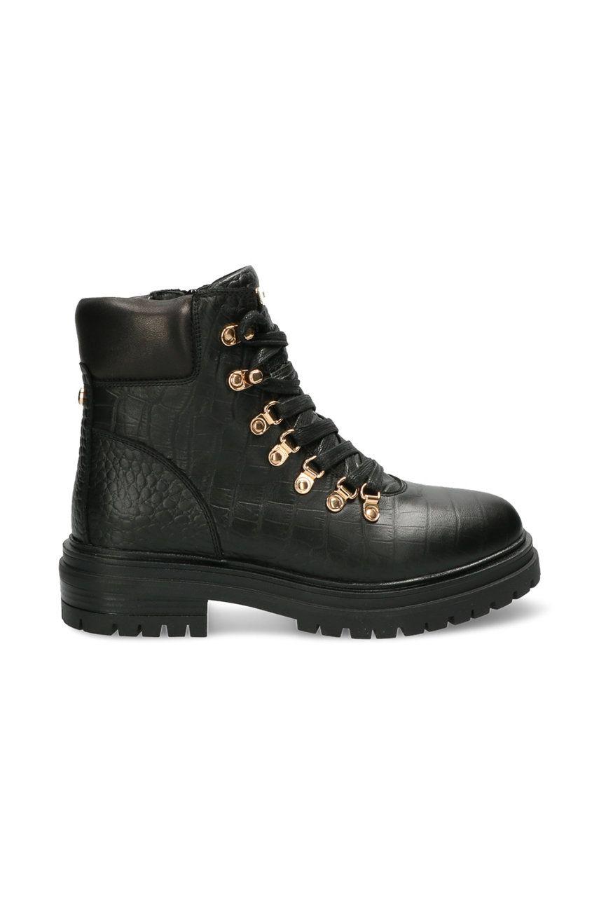 Mexx - Bocanci de piele Ankle Boots Fresh