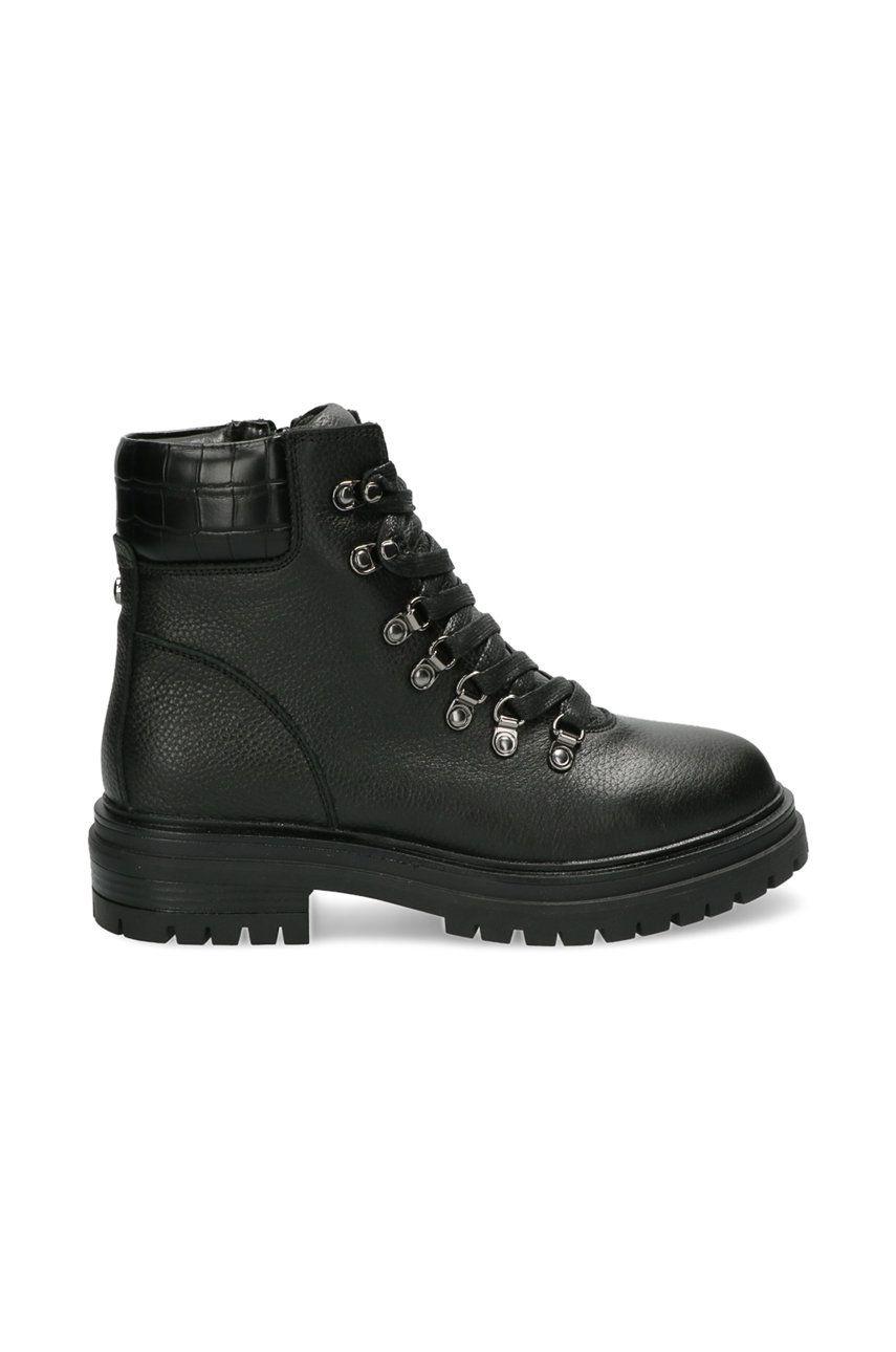 Mexx - Cizme de piele Ankle Boots Fresh