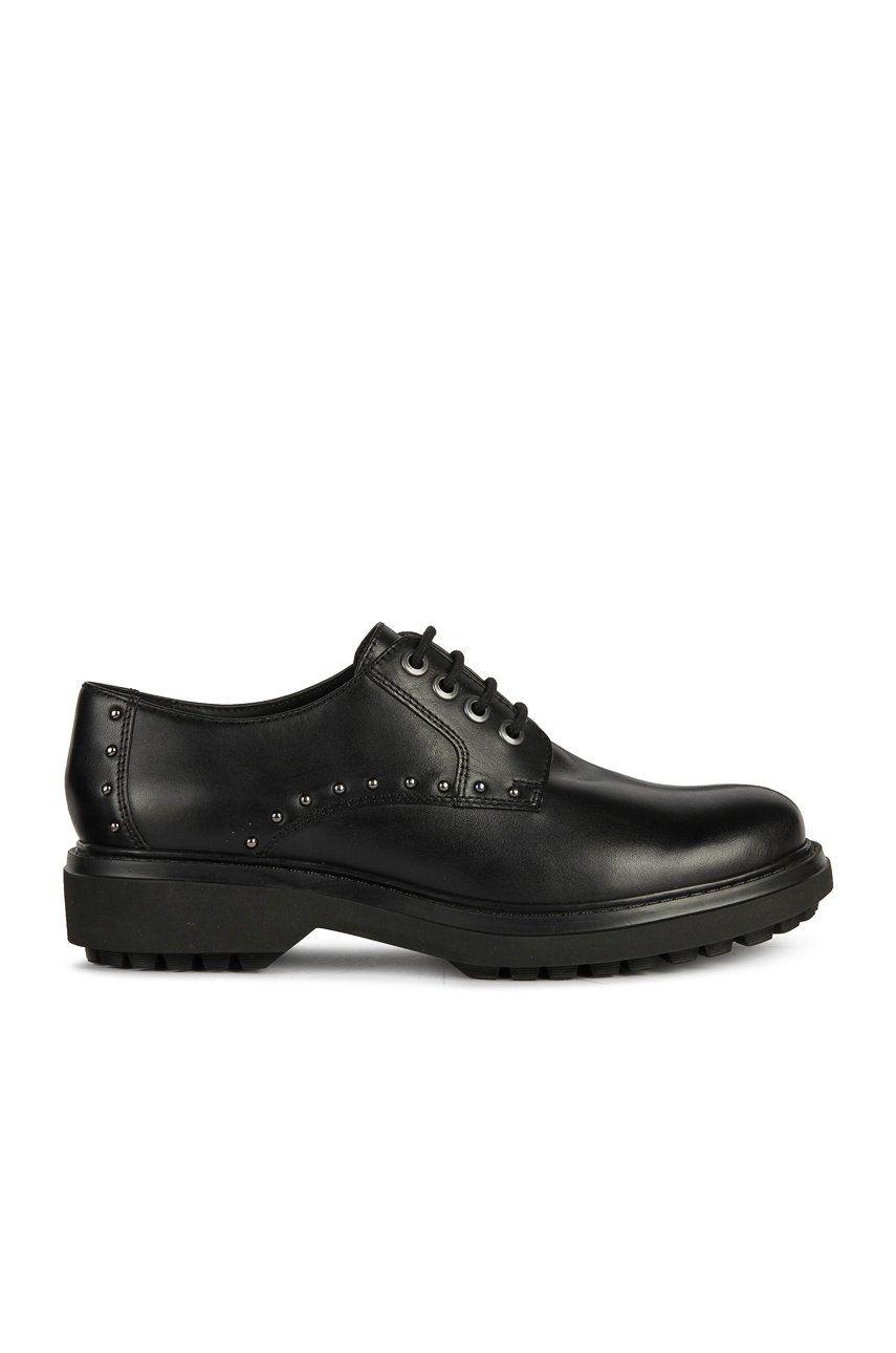 Geox - Pantofi de piele poza answear