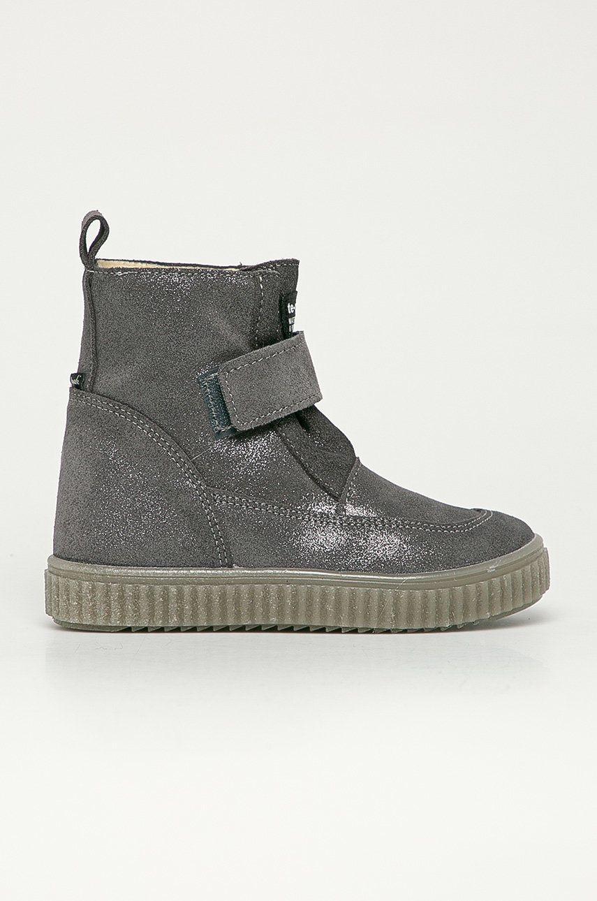 Mrugała - Pantofi din piele intoarsa pentru copii poza
