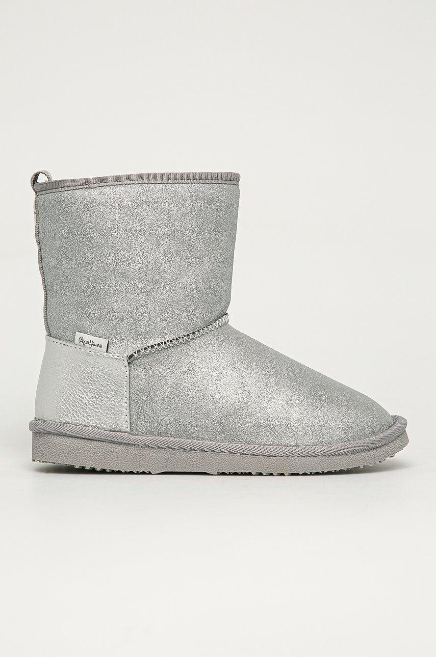 Pepe Jeans - Cizme de iarna copii Angel Shiny answear.ro