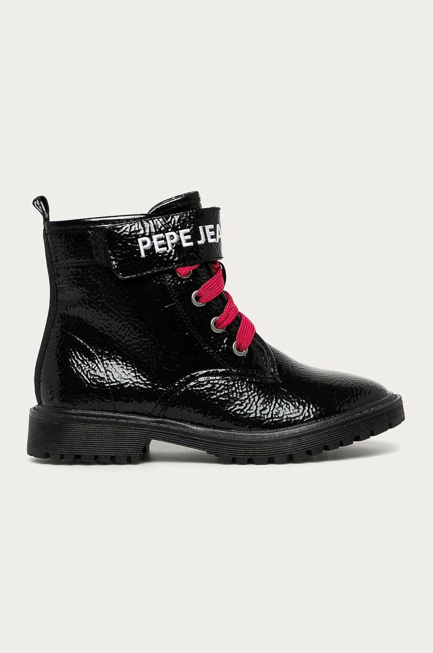 Pepe Jeans - Bocanci copii Hatton Velcro