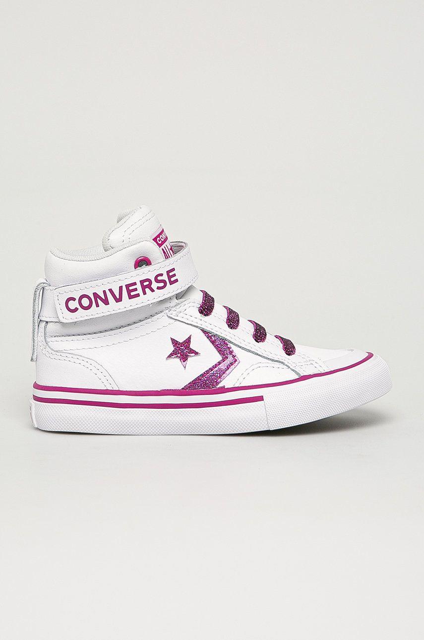Converse - Tenisi de piele pentru copii imagine