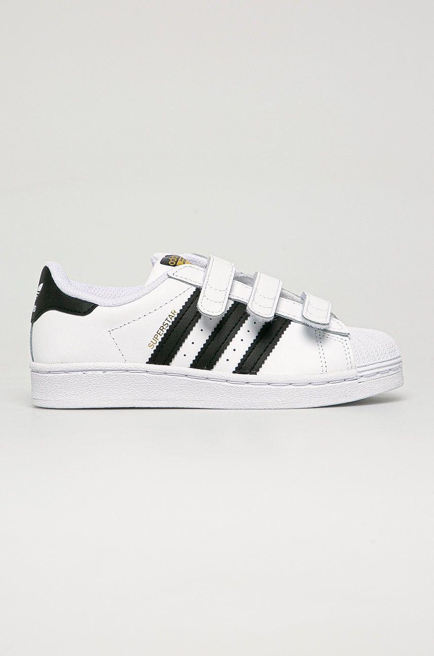 adidas Originals - Detské kožené topánky Superstar