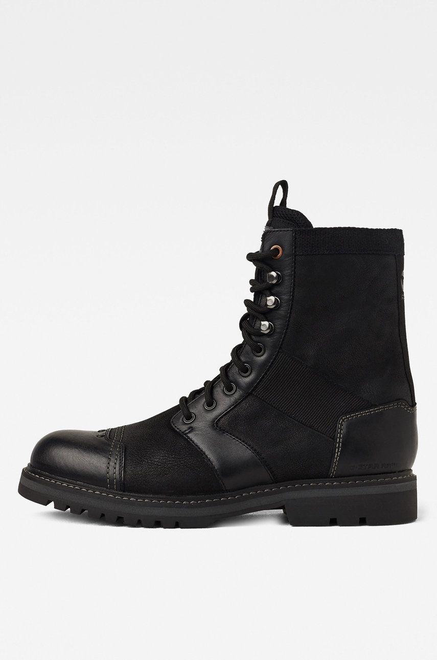 G-Star Raw - Pantofi inalti de piele answear.ro