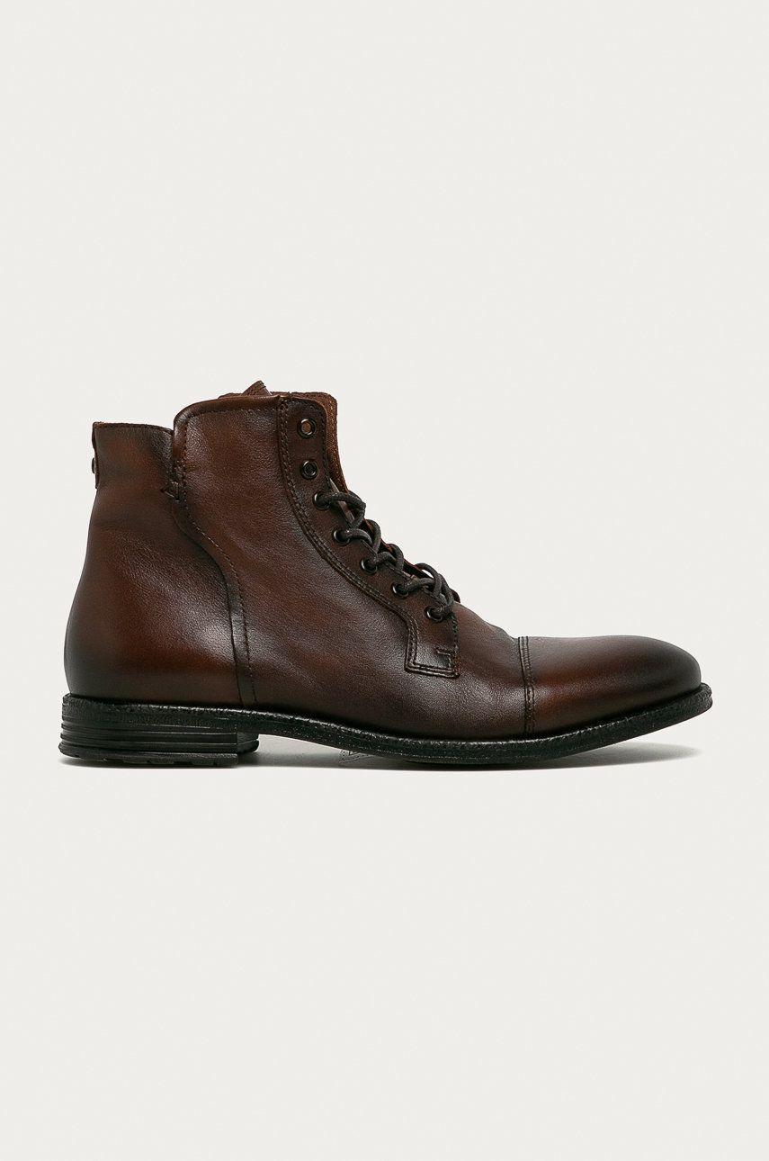Aldo - Pantofi inalti de piele Steurstraat imagine answear.ro
