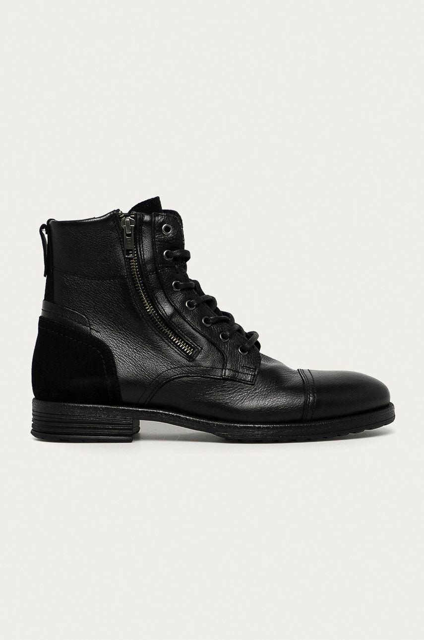 Aldo - Pantofi inalti de piele Bravin imagine answear.ro