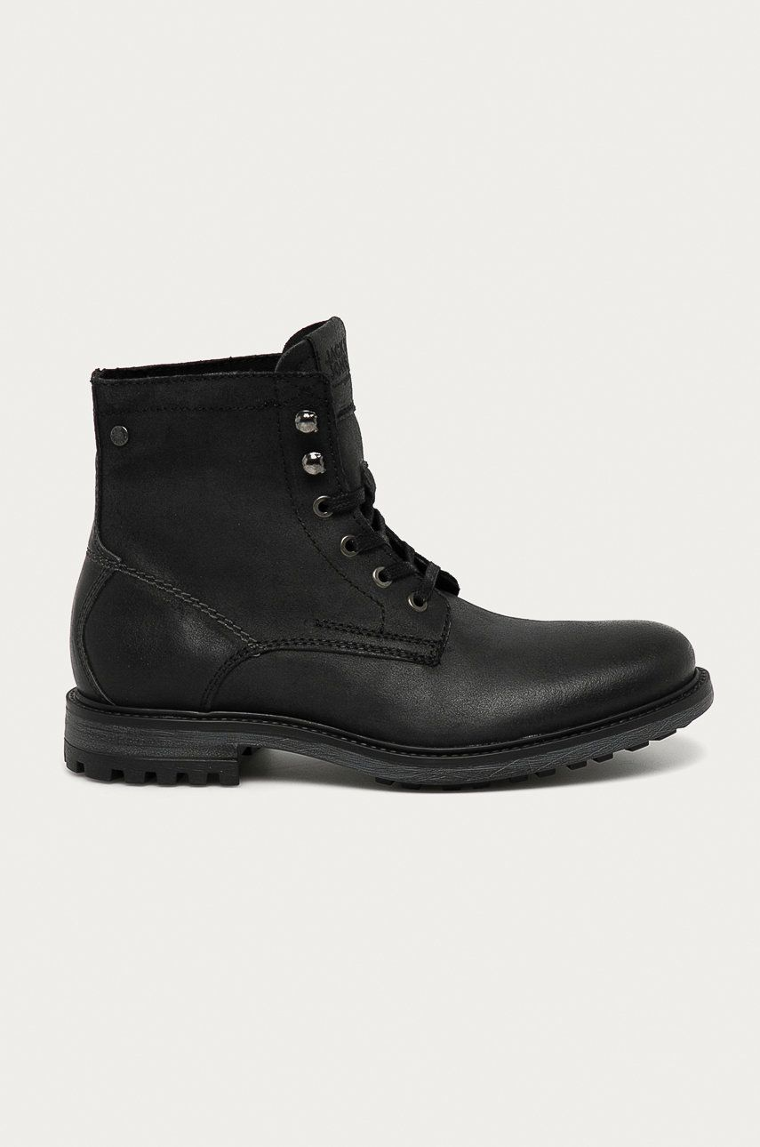 Jack & Jones - Pantofi inalti de piele imagine answear.ro 2021