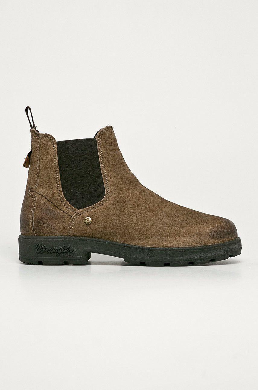 Wrangler - Semišové kotníkové boty