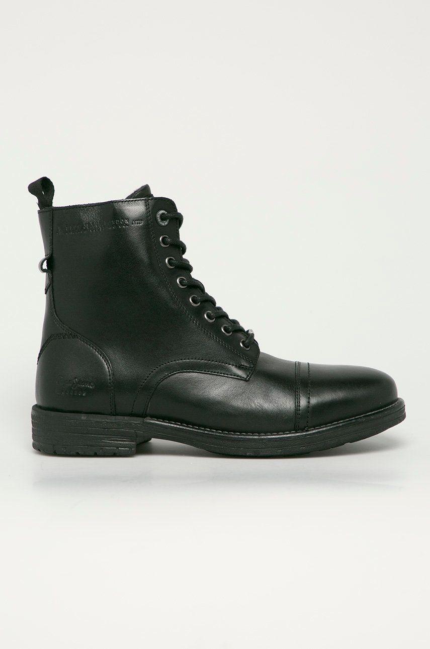 Pepe Jeans - Pantofi inalti de piele Tom Cut Premium answear.ro