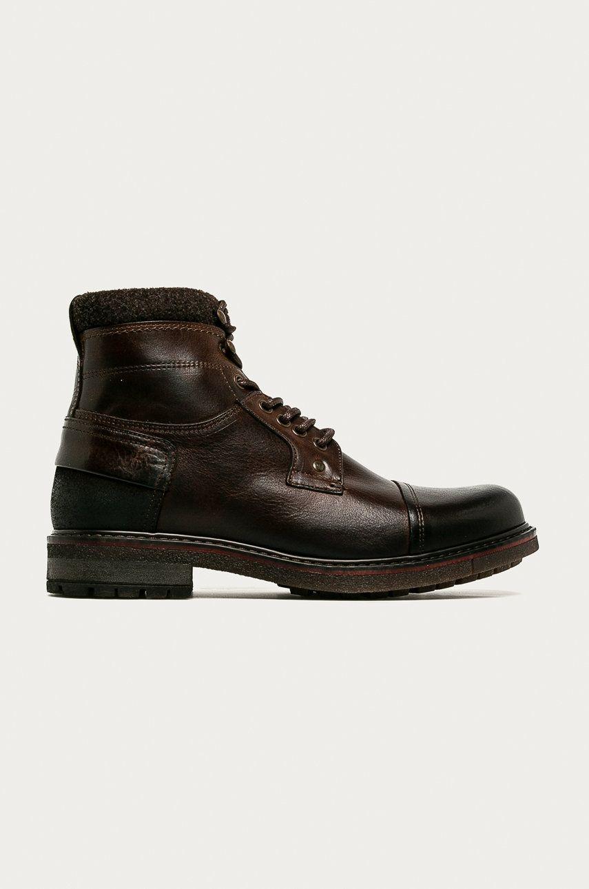 Aldo - Pantofi inalti de piele Legelicien imagine answear.ro