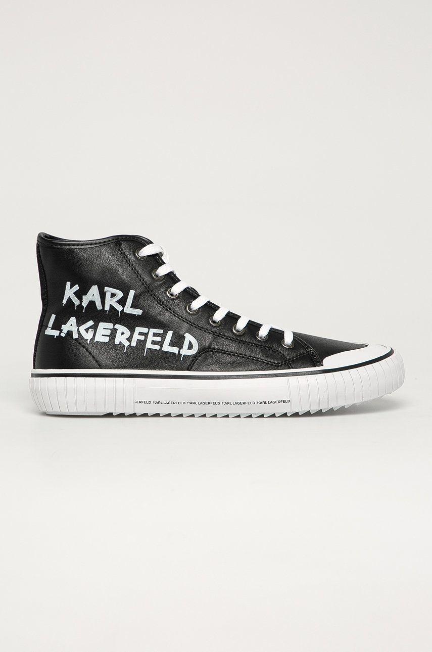 Karl Lagerfeld - Tenisi de piele