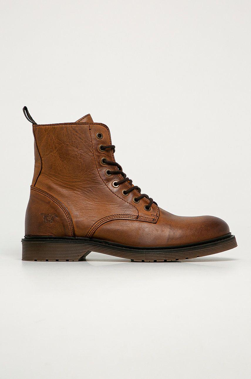 Mustang - Pantofi inalti de piele