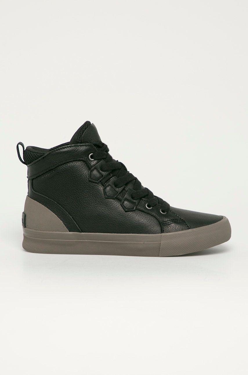 Sorel - Ghete de piele Caribou Sneaker Mid WP