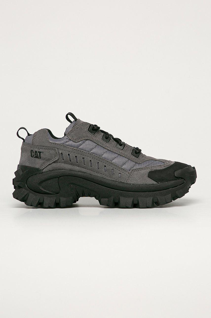 Caterpillar - Pantofi de piele intoarsa Intruder