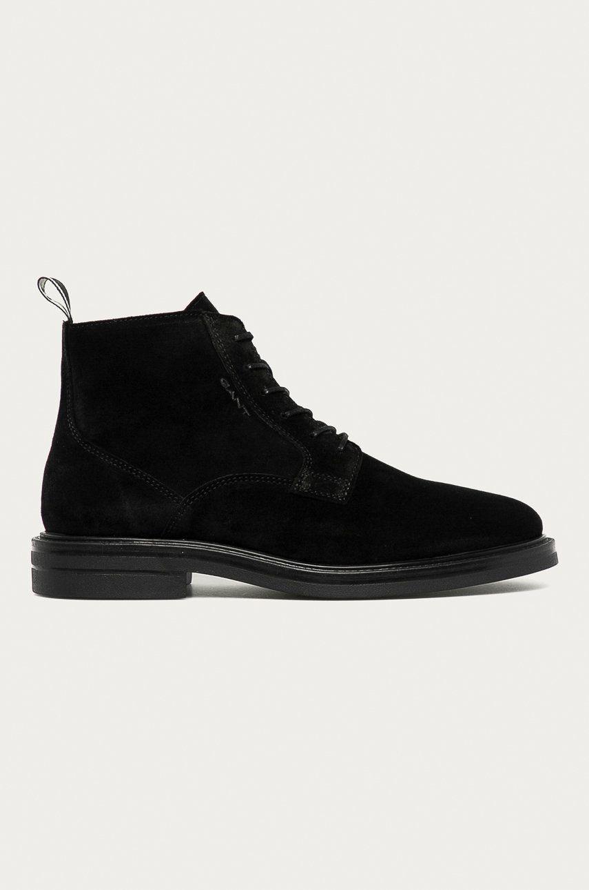 Gant - Pantofi de piele intoarsa Kyree imagine answear.ro 2021