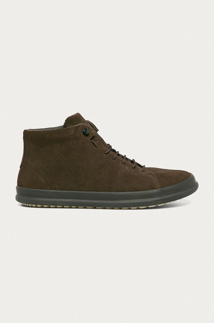 Camper - Pantofi de piele intoarsa Chasis Sport imagine answear.ro