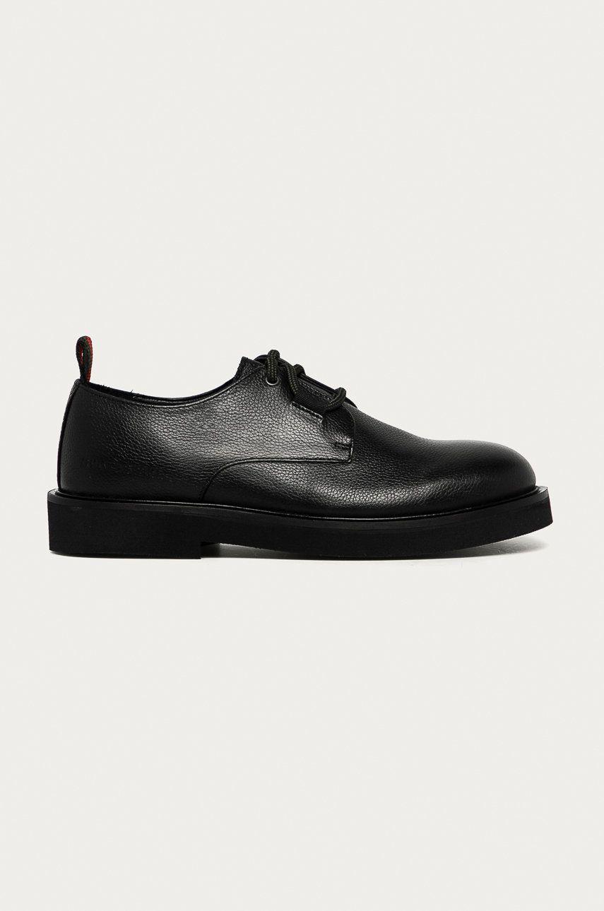 Armani Exchange - Pantofi de piele