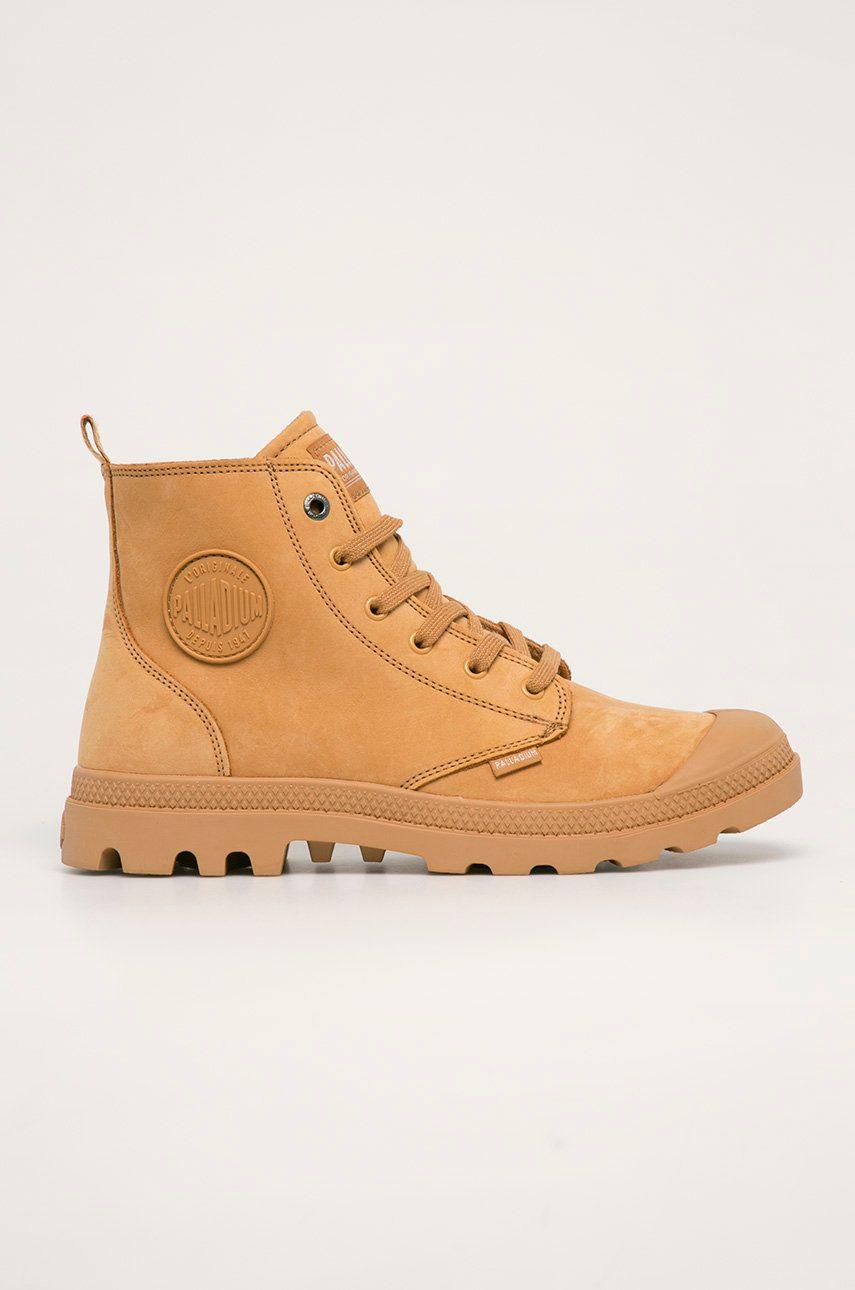 Palladium - Pantofi de piele intoarsa imagine