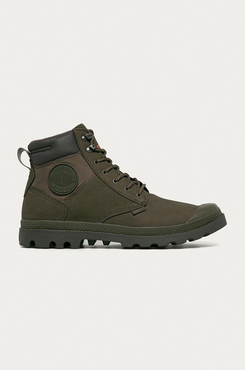Palladium - Pantofi de piele intoarsa imagine answear.ro 2021