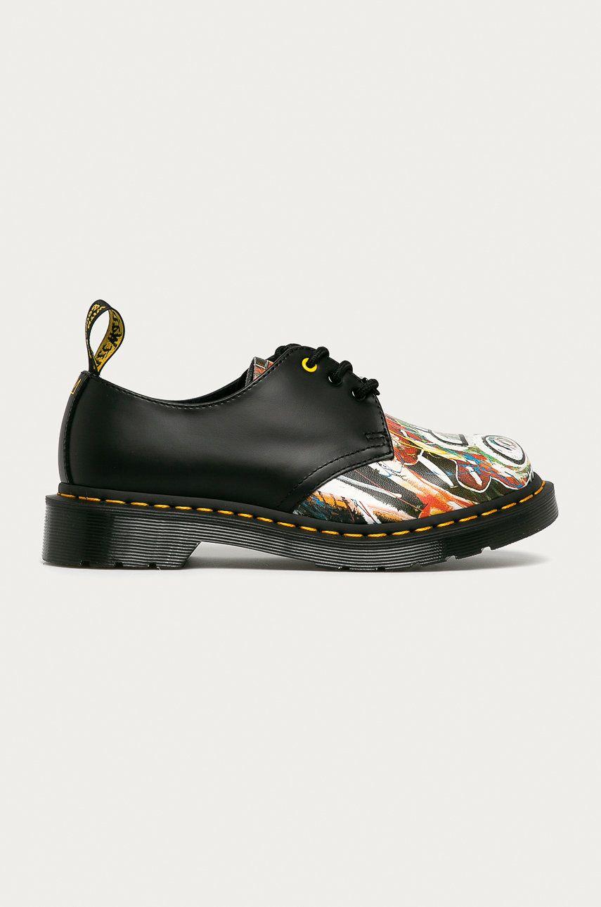 Dr. Martens - Pantofi de piele 1461 Basquiat imagine
