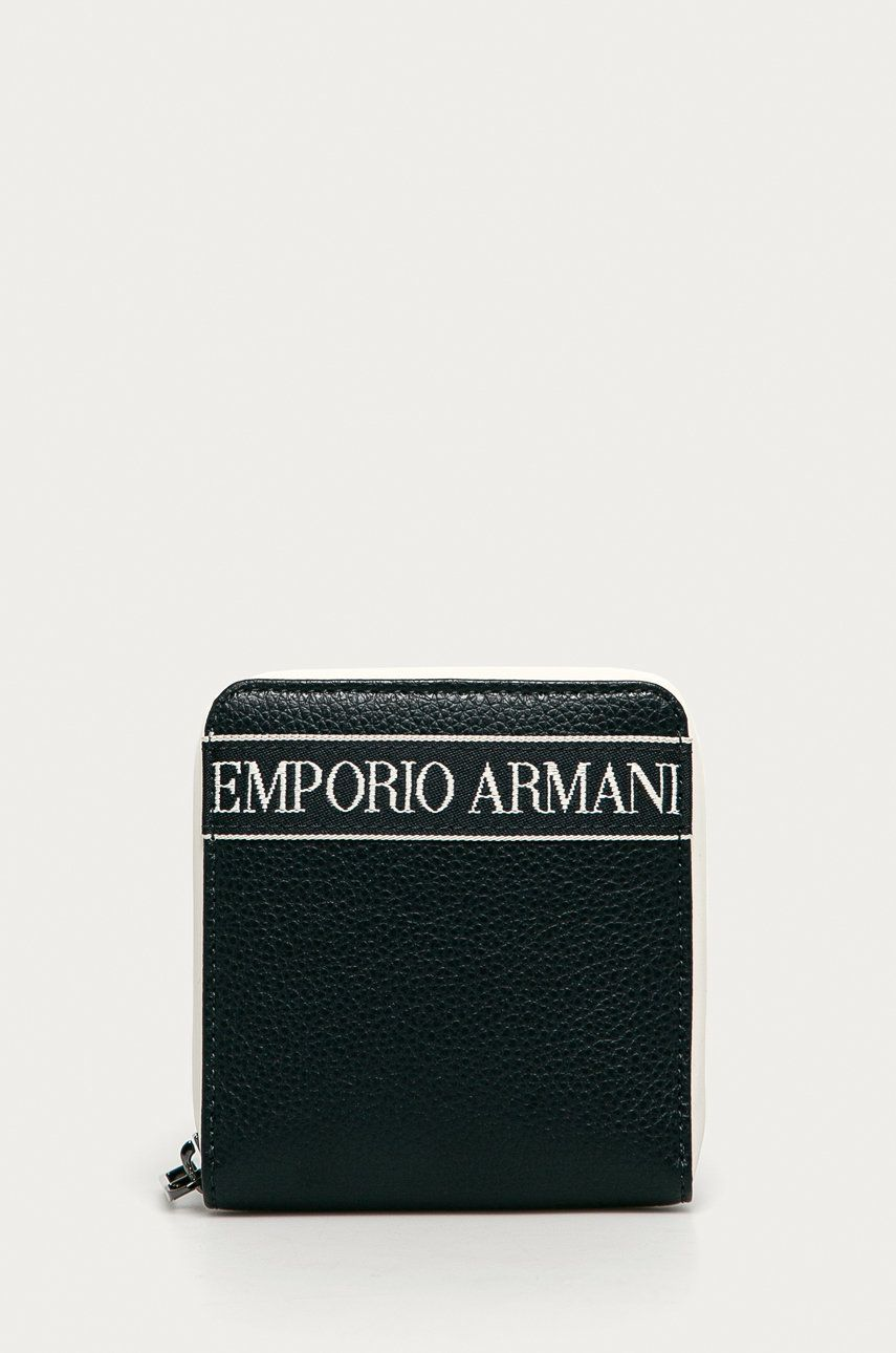 Emporio Armani - Portofel de piele