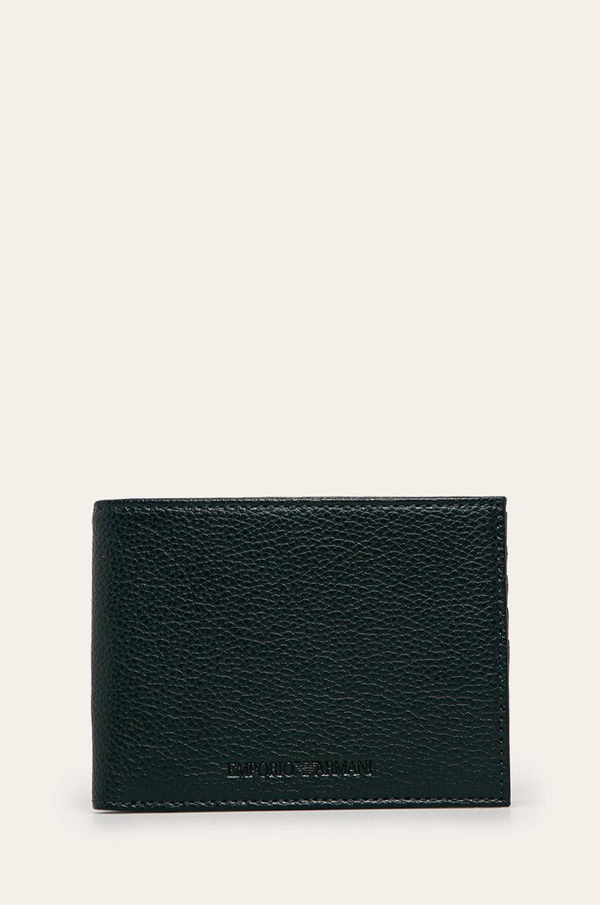 Emporio Armani - Portofel de piele imagine 2020
