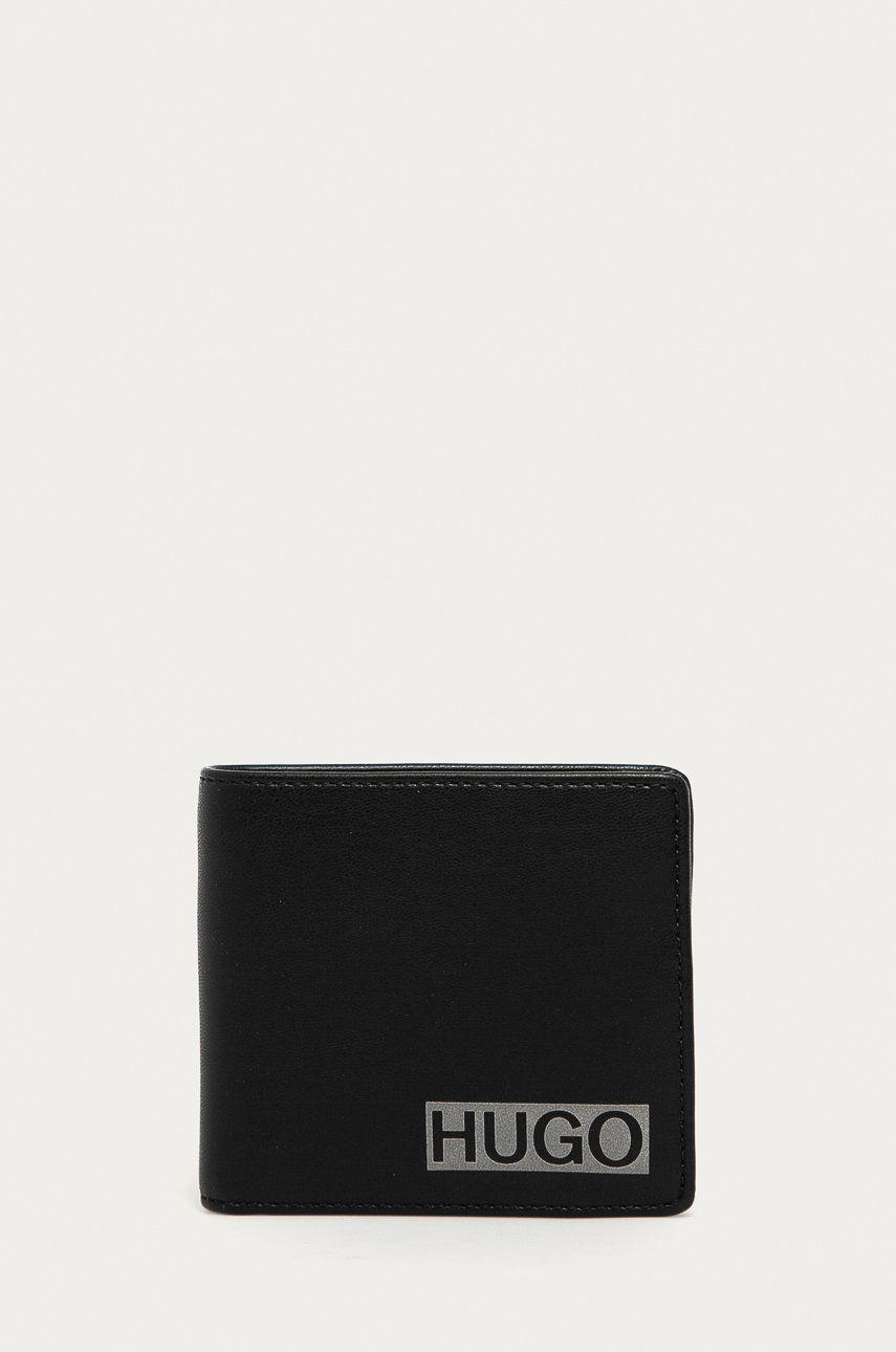 Hugo - Portofel de piele (2-pack) imagine 2020