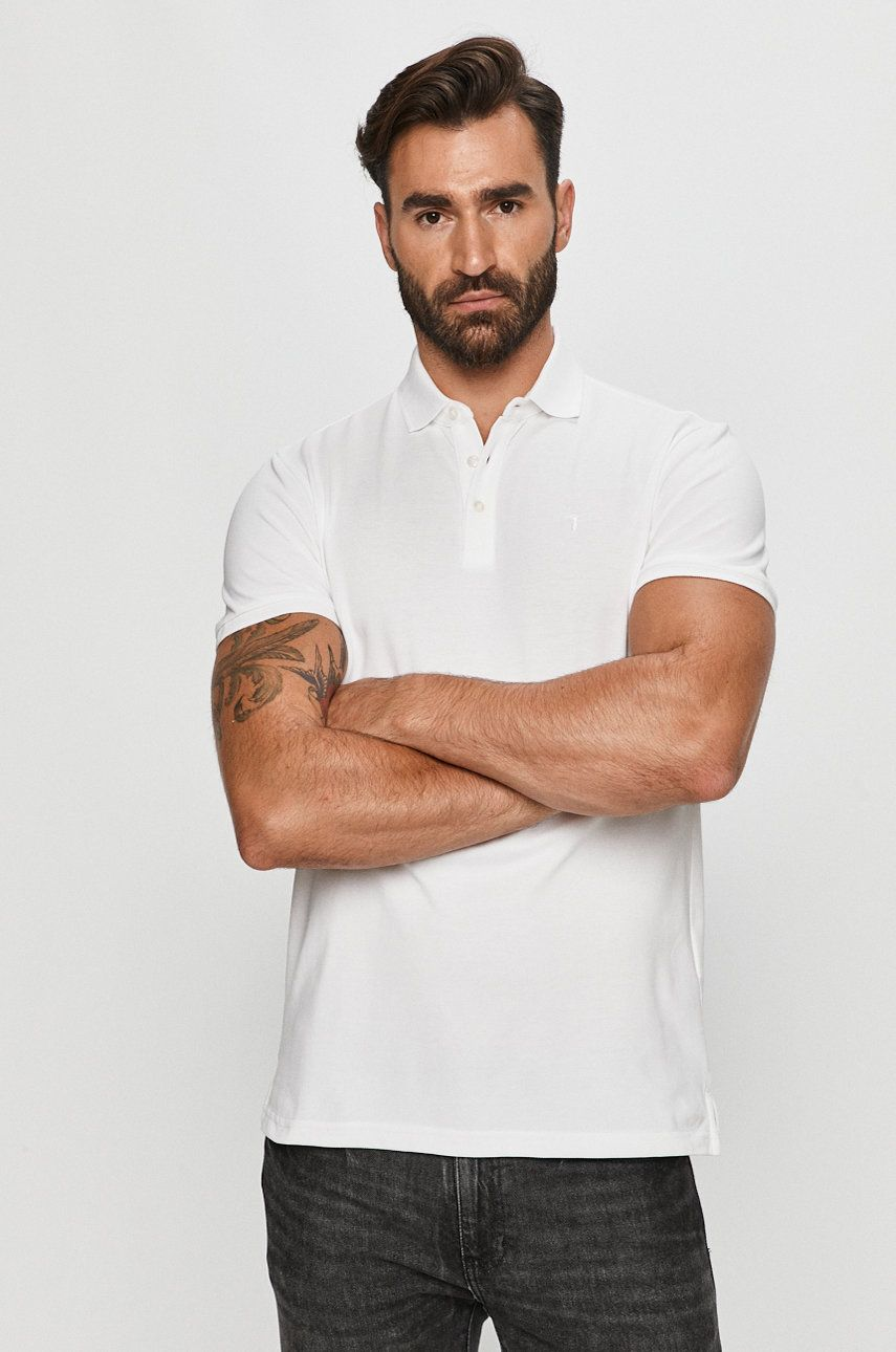 Trussardi Jeans - Tricou Polo imagine 2020