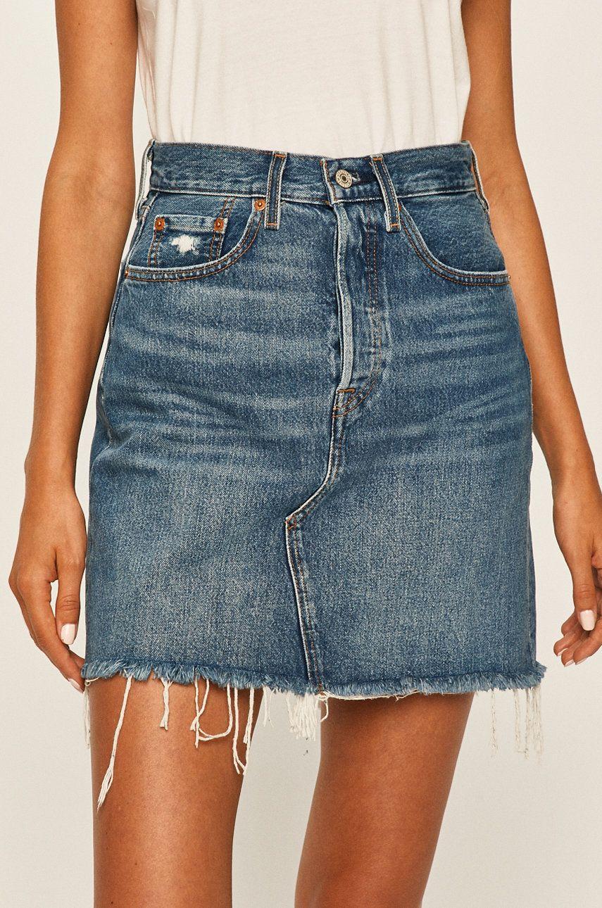 Levi's - Fusta jeans answear.ro