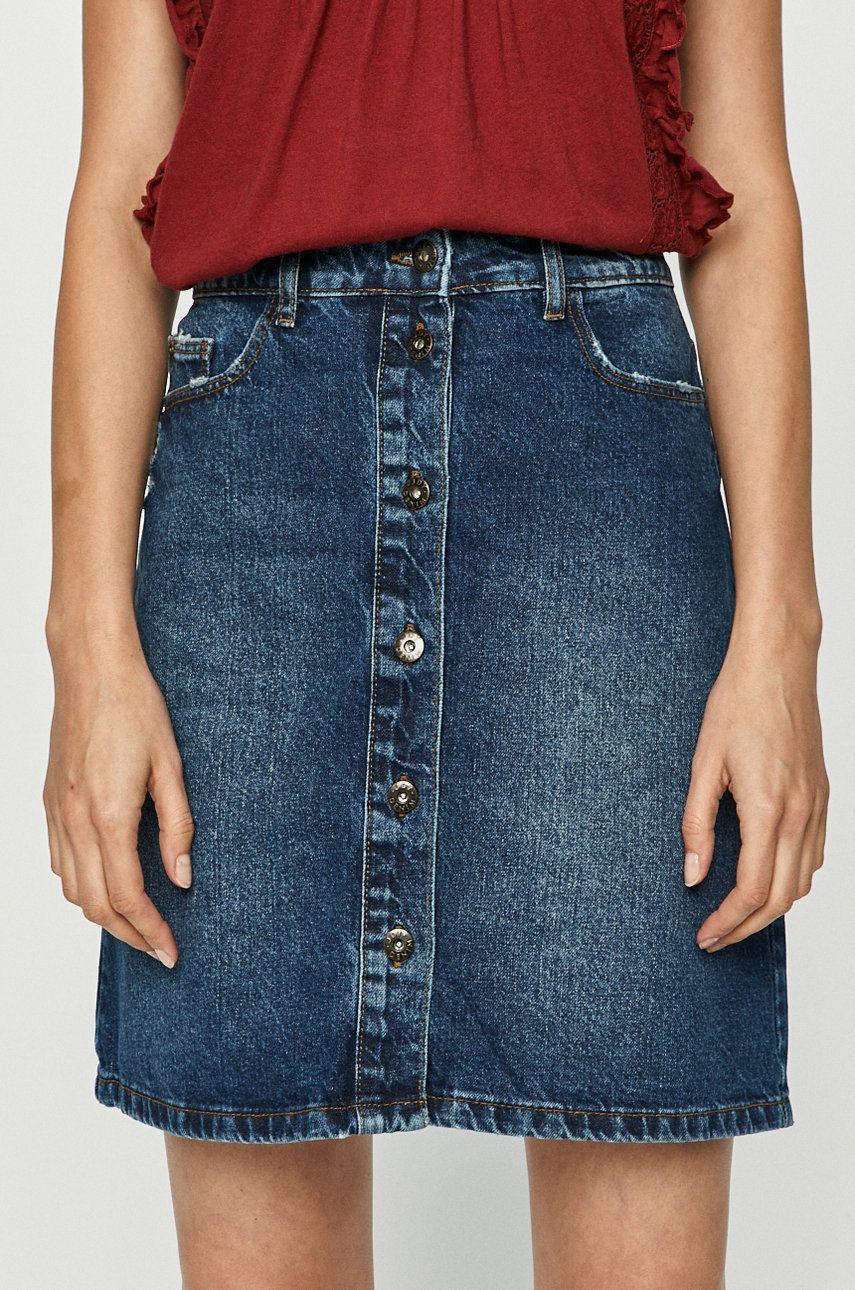 Jacqueline de Yong - Fusta jeans de la Jacqueline de Yong