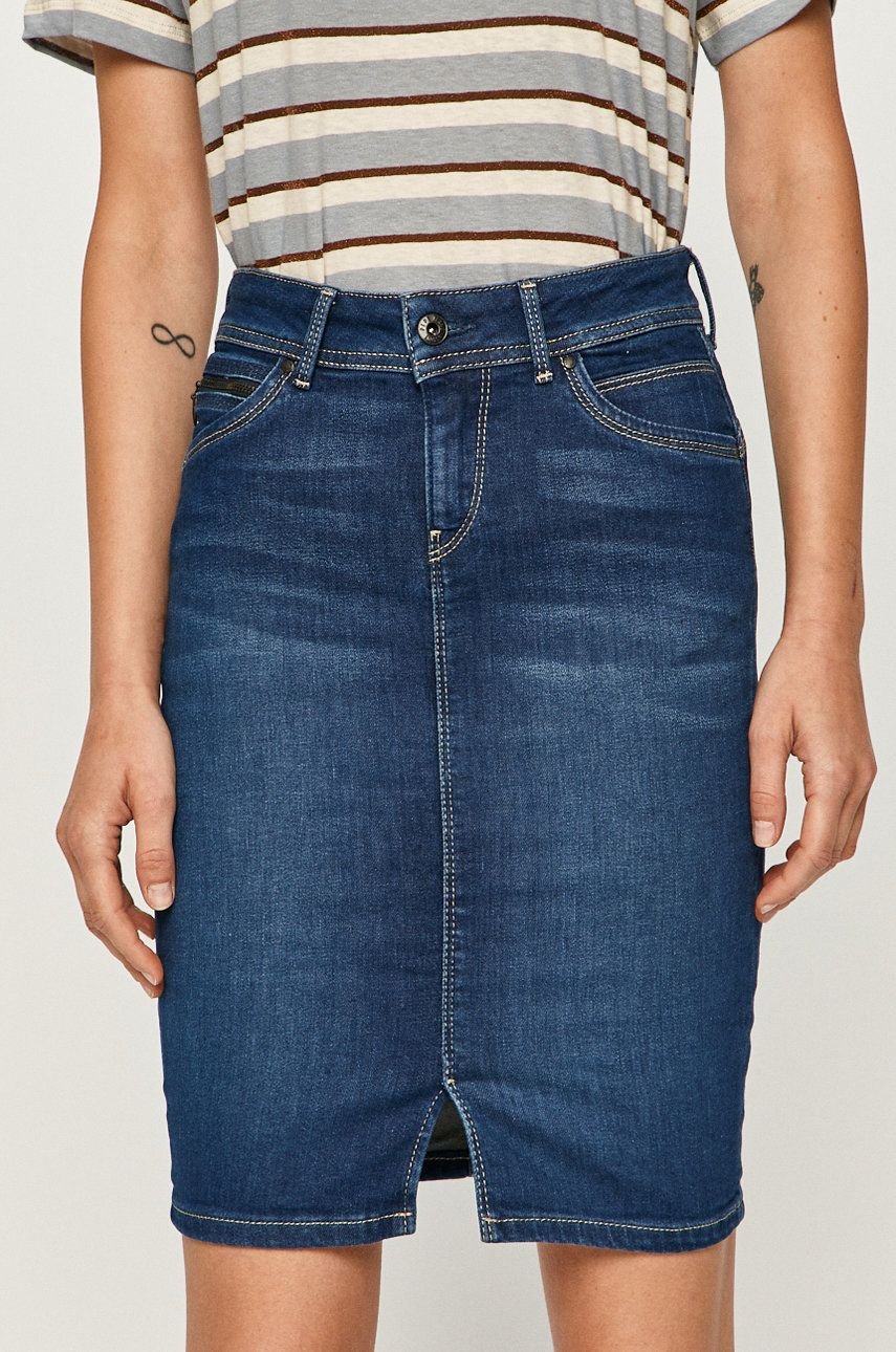 Pepe Jeans - Fusta jeans Taylor de la Pepe Jeans