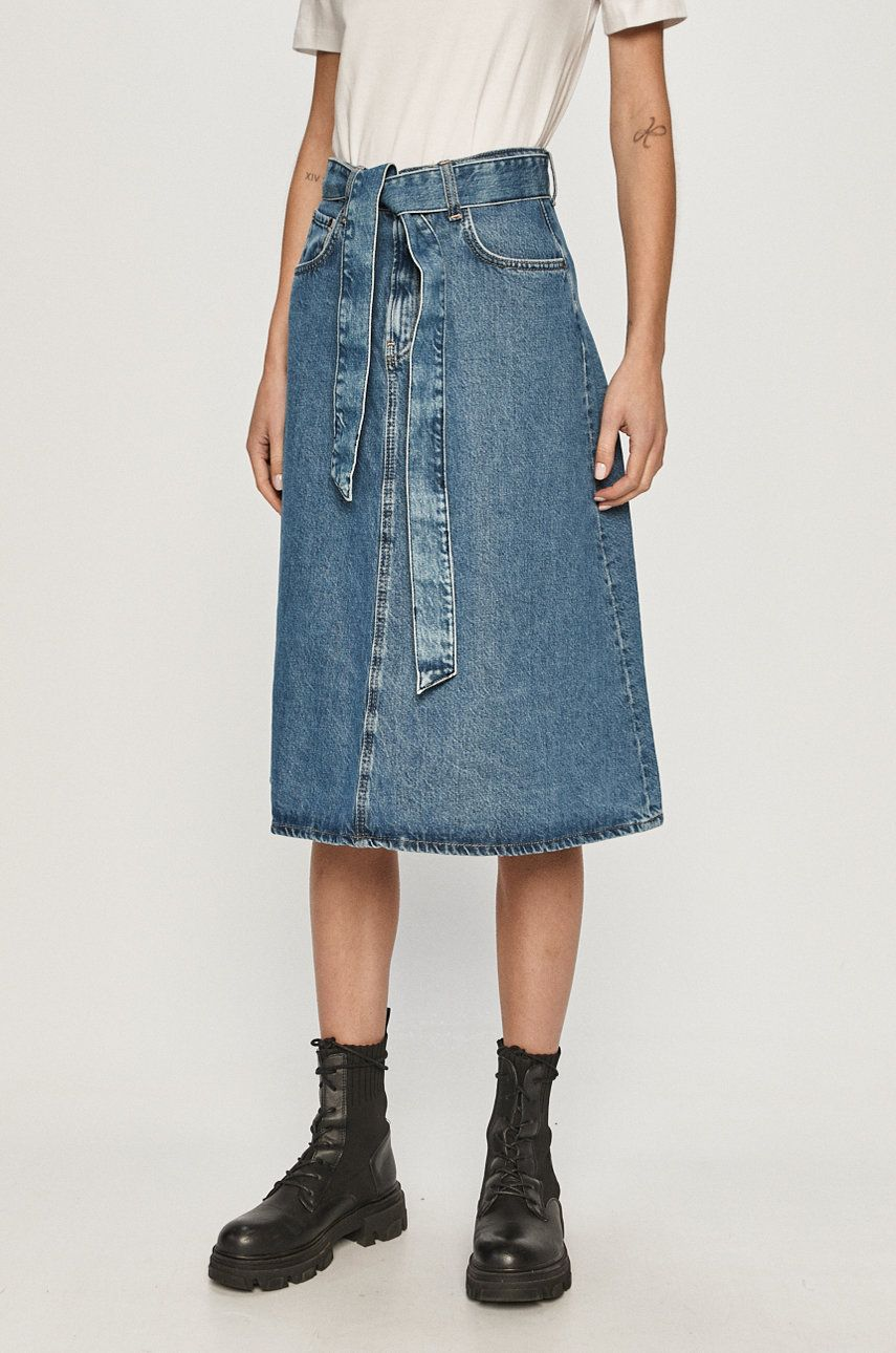 Pepe Jeans - Fusta jeans Annabelle